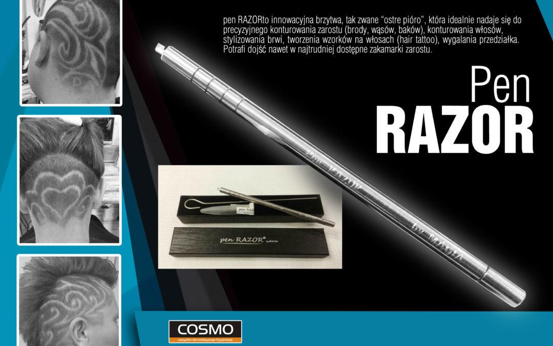 Pen Razor – brzytwa do konturowania włosów!